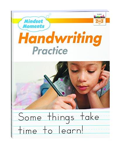Mindset Moments Handwriting Practice Manuscript Gr. 2-3 - NL4691