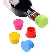 Vicloon Tappo di Bottiglia,5 Pezzi Capsule in Tappo per Bottiglie di Champagne Vino,Tappi per Bottiglie Riutilizzabili