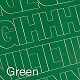 "Graphic Products Permanent Adhesive Vinyl Letters and Numbers (167/pkg), 2"", Green"