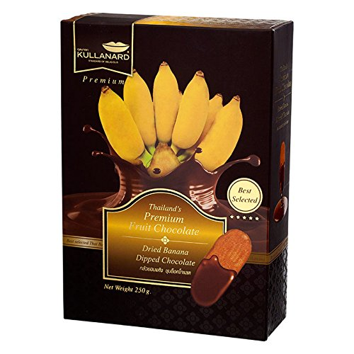 Kullanard, Dried Banana Dipped Chocolate, net weight 250 g (Pack of 1 piece) / Beststore by ()