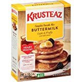 Krusteaz Heart Healthy Pancake Mix, 25.2-Ounce Boxes (Pack of 12)