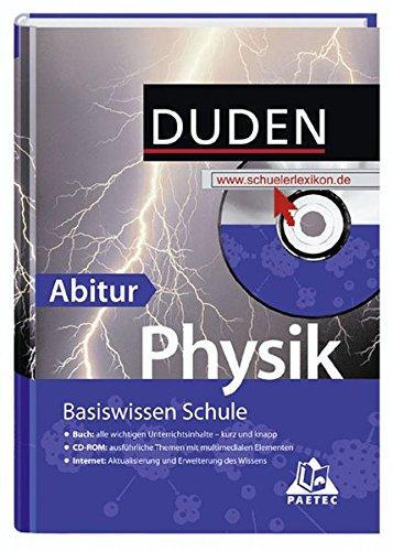 Basiswissen Schule - Physik Abitur: 11. Klasse bis Abitur
