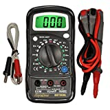 Triplett / Byte Brothers BBT858L Digital Multimeter with Voltmeter Ammeter Ohm Meter Continuity Diode and Temperature Tester
