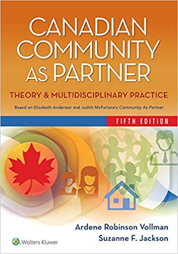 Canadian community as partner : theory and multidisciplinary practice