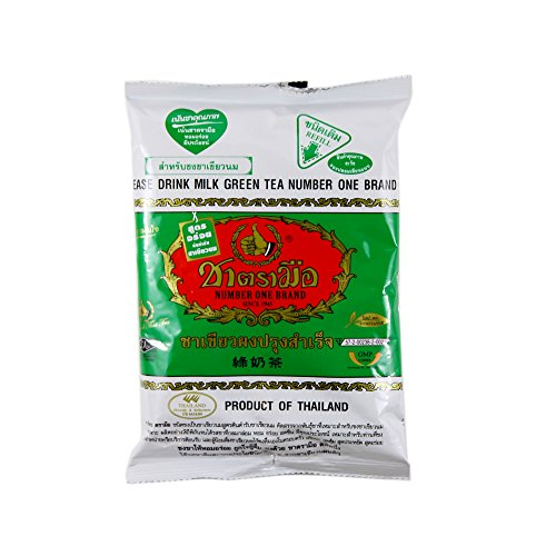 100% Classic Thailand hand labeled green tea bag 200g milk tea top taste good quality