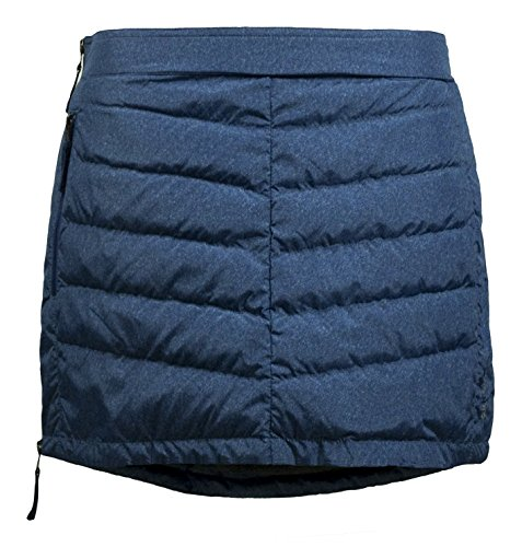 Down Skirt (Skhoop Mini Down Skirt, Denim, Small)