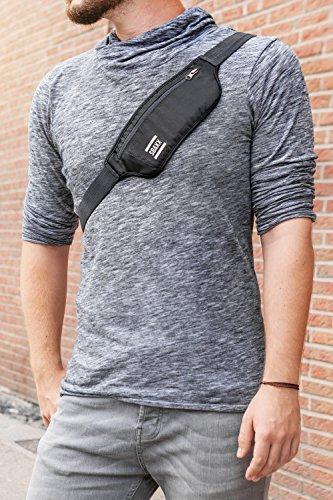 SBAXX - Tasche für E-Zigarette / Dampfertasche / Super Slim und Bequem durch Innen-Polsterung / Vape-Bag / Umhänge-Tasche