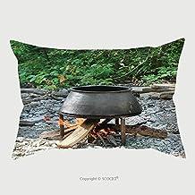 Custom Microfiber Pillowcase Protector Yarn Dyeing Cauldron 402795613 Pillow Case Covers Decorative