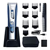HATTEKER Hair Trimmer Cordless Hair Clippers Beard Trimmer For...