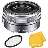 SonyE PZ 16-50mm f/3.5-5.6 OSS Lens - Silver