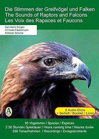Die Stimmen der Greifvögel und Falken * 2 Audio-CDs