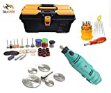 Tools Centre Unique Multi Tools Die Grinder Kit, Dremel Variable Speed With Storage Tool Box & Accessories