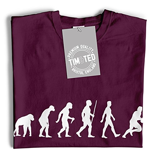 Tim and Ted Hot Stuff Coming Through, fresco Pie disegno stampato Slogan Art T-Shirt Da Donna