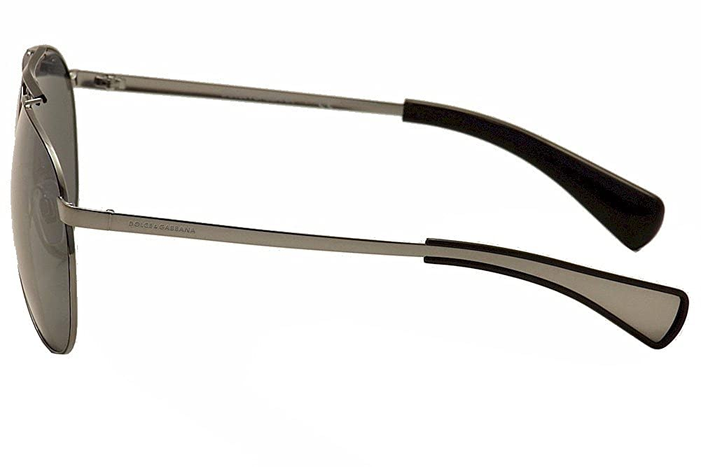 b1e9e567416d Amazon.com  Dolce   Gabbana Sunglasses 2152 04 6G Ruthenium Silver Mirror   Clothing