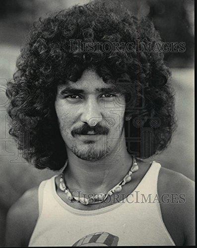 1983 Press Photo Ubencio Perez, Cuban refugee in Milwaukee, - Photograph Perez
