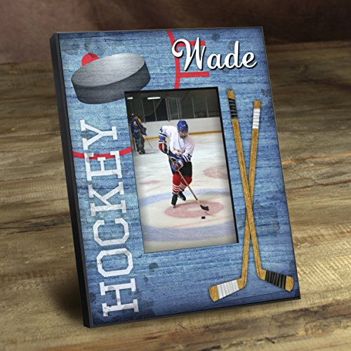 Personalized Kids Sports Frames - Custom Sports Frames - Personalized Kids Frames - Hockey