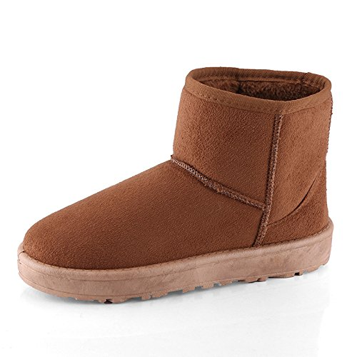 Brown Warm Warm Boots Women Boots Brown Warm Women Iq0q7U