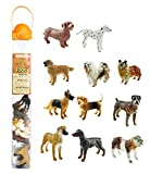 Safari Ltd Dogs TOOB With 11 Hand Painted Toy Figurines Including A Dachshund, Dalmatian, Retriever, Sheepdog, Collie, Shepherd, Beagle, Boxer, Great Dane, Doberman, And Bulldog  For Ages 3 And Up