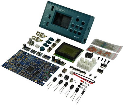 20 Mhz Oscilloscope (JYE Tech 06804K Digital LCD Oscilloscope DIY KIT with 2-inch LCD, 20MHz probe JYE Tech)