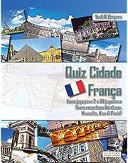 Quiz Cidade França | Livro jogo para 2 a 20 jogadores | Quem reconhece Bordeaux, Marselha, Nice & Paris?