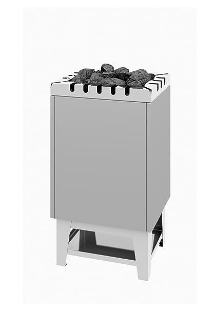 Sauna Horno de Stand Modelo tipo 33 – 4 KW revestimiento de acero inoxidable