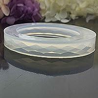FIGHTINGV5 Silicone Diamond Shaped Surface Bracelet Mould DIY Resin Bracelet Jewelry Mold