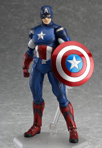 Captain America Figma Action Figure Max Factory SG/_B00K16YHFW/_US Good Smile The Avengers