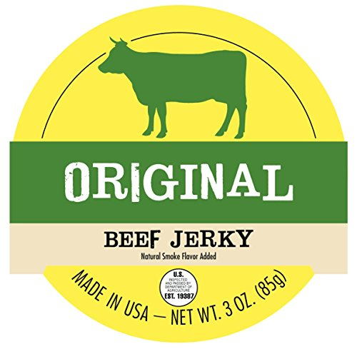 Jerky.coms Original Beef Jerky - 1 POUND BAG - Our Best Value! - All-Natural, No Added Preservatives, No Added Nitrites or Nitrates - 16 total oz.