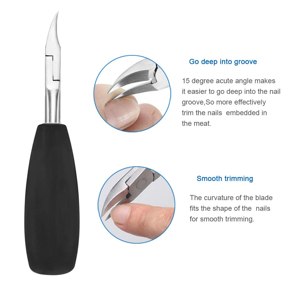 Horsebang Toe Nail Clippers for Thick Nails and Ingrown Toenails, Heavy Duty Toenail Clippers, One of the Large Nail Nipper, Especially Suitable for Seniors by Horsebang (Image #6)