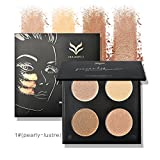 ieasysexy Matte Powder High Burnishing Powder Brighten Eyeshadow Powder for Repairing Face (Style#1)