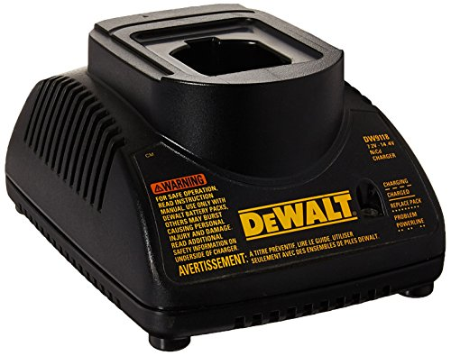DeWalt DW9118 7.2V - 14.4V 1-Hour Battery Charger
