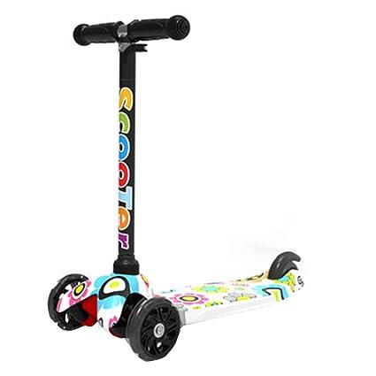 FJHH-Trottinettes Scooter niños a Partir de 3 años. Patinete ...