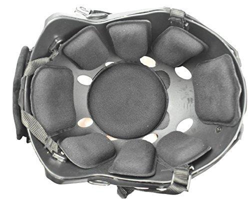 JADEDRAGON Universal Tactical Airsoft Helmet Accessories Cs Helmet EVA Pads 19pcs Set for Fast/ACH/MICH/Motorcycle Helmet(Black)