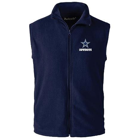 new product 73642 42907 NFL Dallas Cowboys Mens Houston Fleece Vest, Navy, X-Large