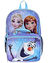 "Disney Frozen 16"" Backpack with Lunch Kit"