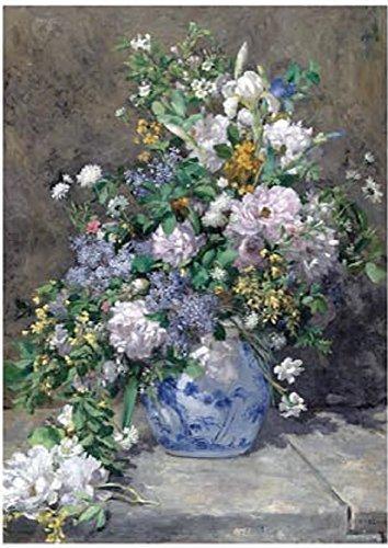 Tomax Spring Bouquet 1000 Piece Pierre-Auguste Renoir Mini Jigsaw Puzzle