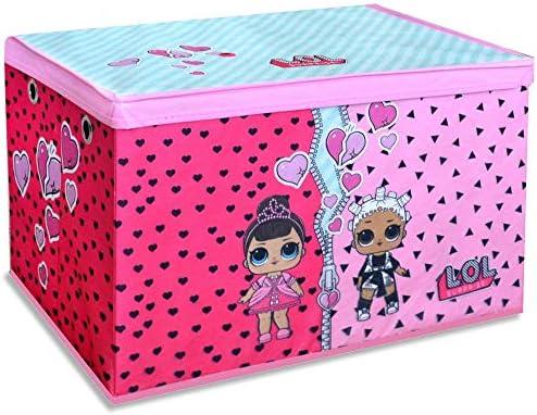 LOL Surprise - Caja para Juguetes (55 x 37 cm, con Tapa): Amazon ...