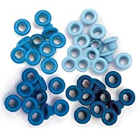 We R Memory Keepers–Ojales Standard, Azul, 60Piezas por Pack