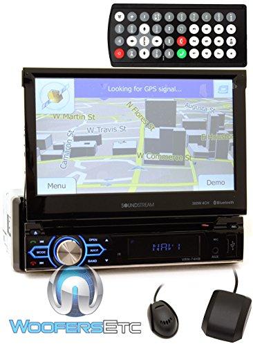 Soundstream VRN-74HB 1-DIN GPS/DVD/CD/MP3/AM/FM Receiver with 7