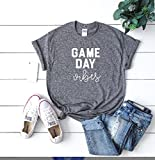 Product review for Game day vibes Sundays are for football women's football tee women's football outfit game day, Football tee