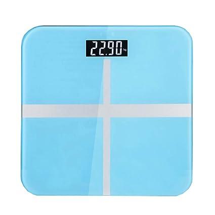 Básculas Digitales Báscula de baño Digital de Alta precisión Escala de pesaje electrónica Super Clara Amplia