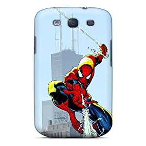 New Chuxia Super Strong Spiderman Tpu Case Cover For Galaxy S3