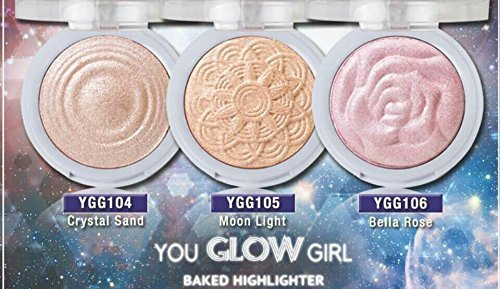 Brand New J.Cat You Glow Girl Baked Highlighter (Crystal Sand)