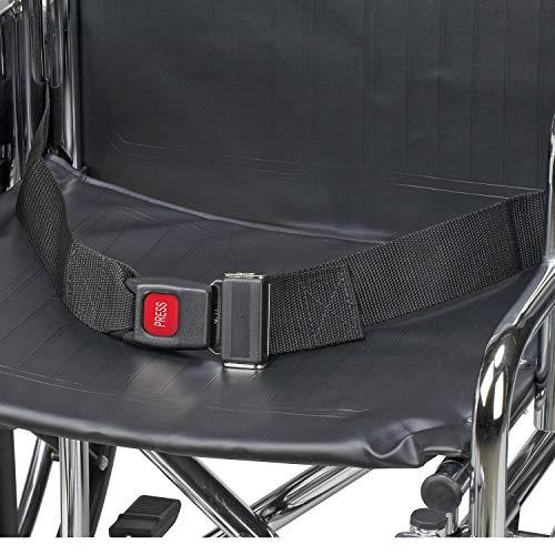 Why Choose DMI Wheelchair Seat Belt, Wheelchair Safety Harness, Black