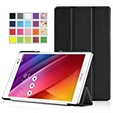 ASUS ZenPad S 8.0 (Z580C/Z580CA) Case - MoKo Ultra Slim Lightweight Smart-shell Stand Cover Case with Auto Wake / Sleep for ASUS ZenPad Z580C/Z580CA S 8.0 inch Tablet, BLACK