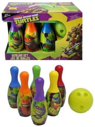 ninja turtles bowling set - 2
