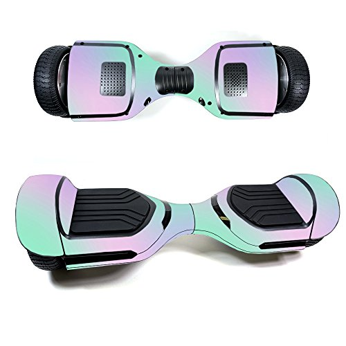 Board Protective Silicone Cover - Skin for Swagtron T580 Hoverboard - Cotton Candy| MightySkins Protective, Durable, and Unique Vinyl Decal wrap cover | Easy To Apply, Remove, and Change Styles | Made in the USA
