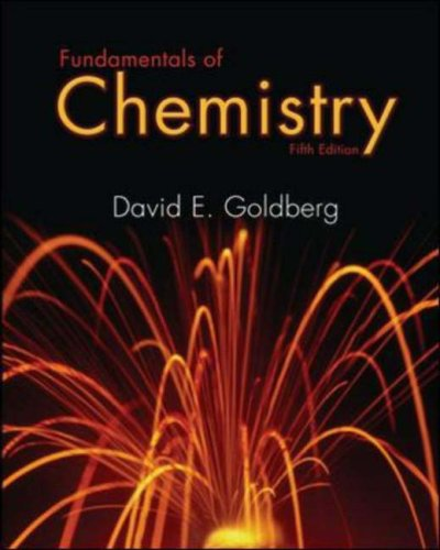 Fundamentals of Chemistry by McGraw-Hill Science/Engineering/Math