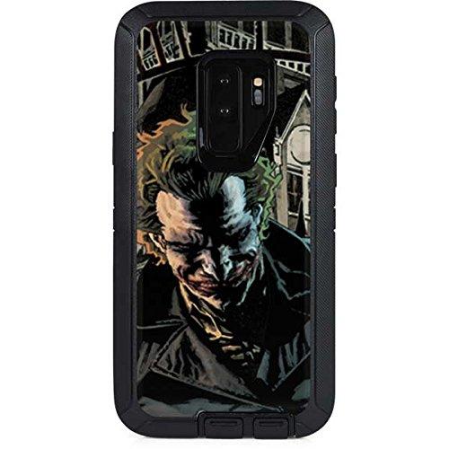 Skinit DC Comics The Joker OtterBox Defender Galaxy S9 Plus Skin - Arkham Asylum - The Joker Design - Ultra Thin, Lightweight Vinyl Decal Protection (Dc Comics Joker)