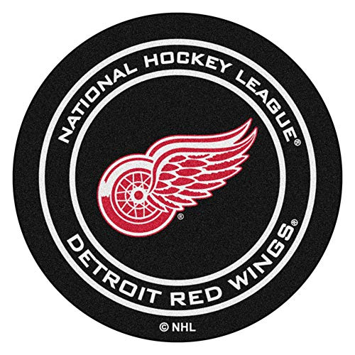 FANMATS NHL Detroit Red Wings Nylon Face Hockey Puck - Wings Hockey Puck Red Detroit